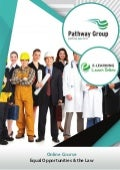 Equal Opportunities & the Law, Online Business Courses, E-learning Pathway Courses, Pathway Group