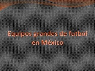 torneos de futbol en mexico