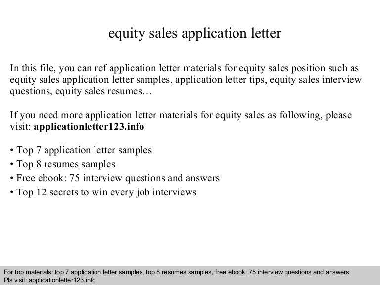 equitysalesapplicationletter 140905202102 phpapp01 thumbnail 4 cb1409948488