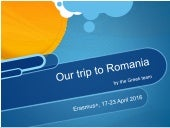 Diary of our stay in Romania - Greek team