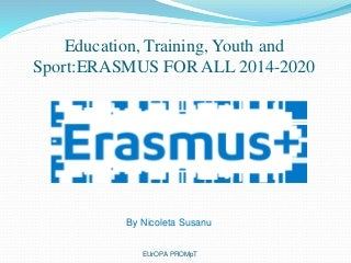 Erasmus for all 2014 2020