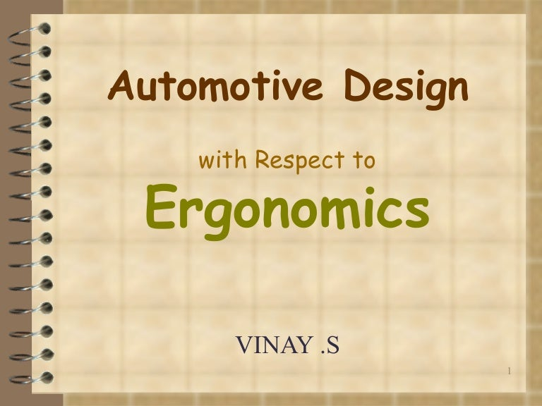 Ergonomics Automotive