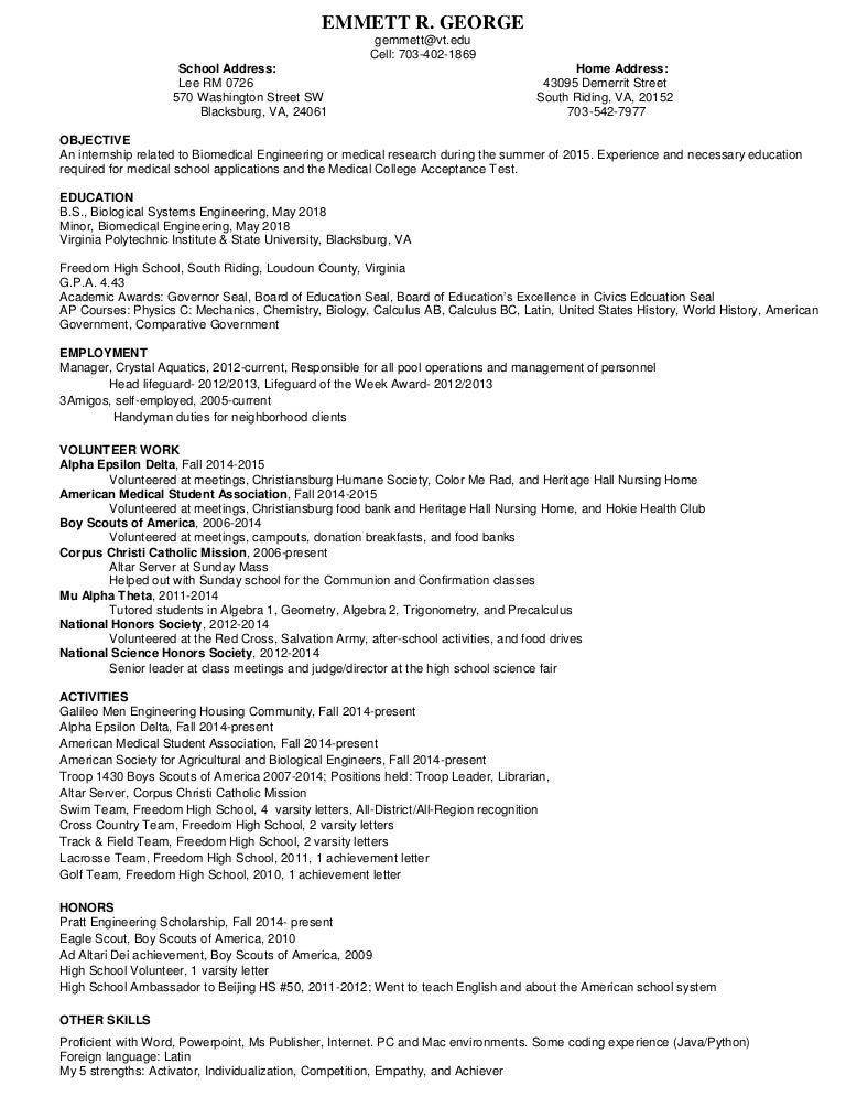 Resume For A Store Manager Pool