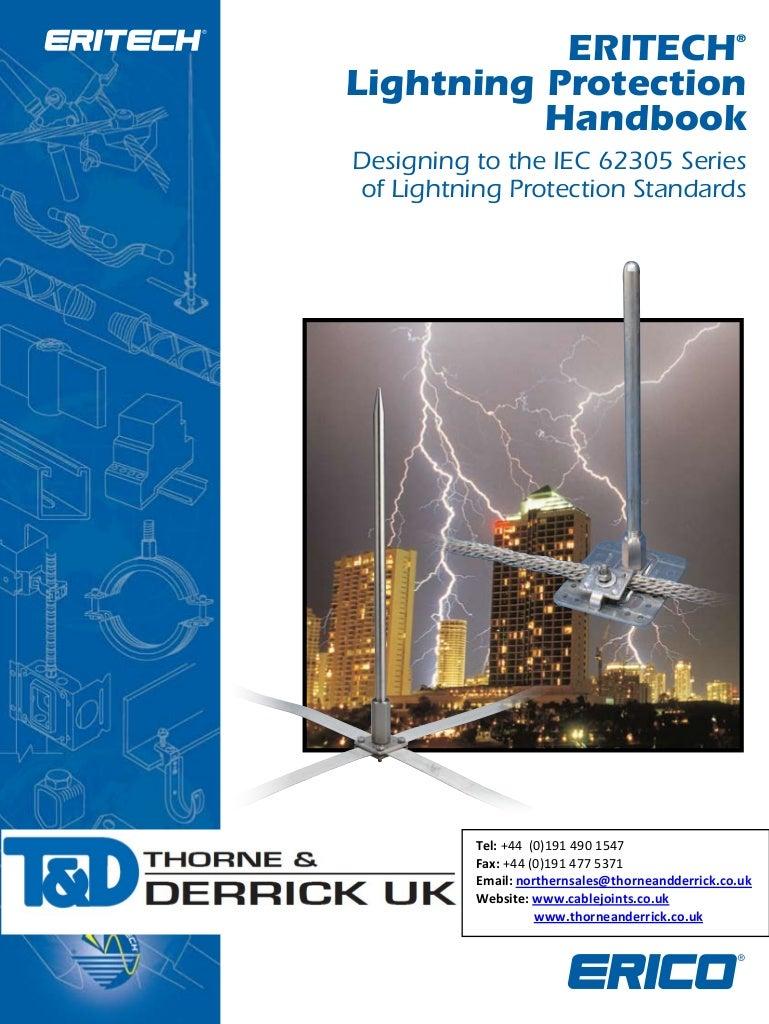 Erico Eritech Lightning Protection Iec62305 Earthing Design Guide