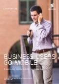 Ericsson ConsumerLab: Business users go mobile