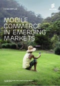 Ericsson ConsumerLab: Mobile commerce in emerging markets