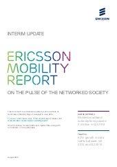 Ericsson mobility-report-august-2014-interim