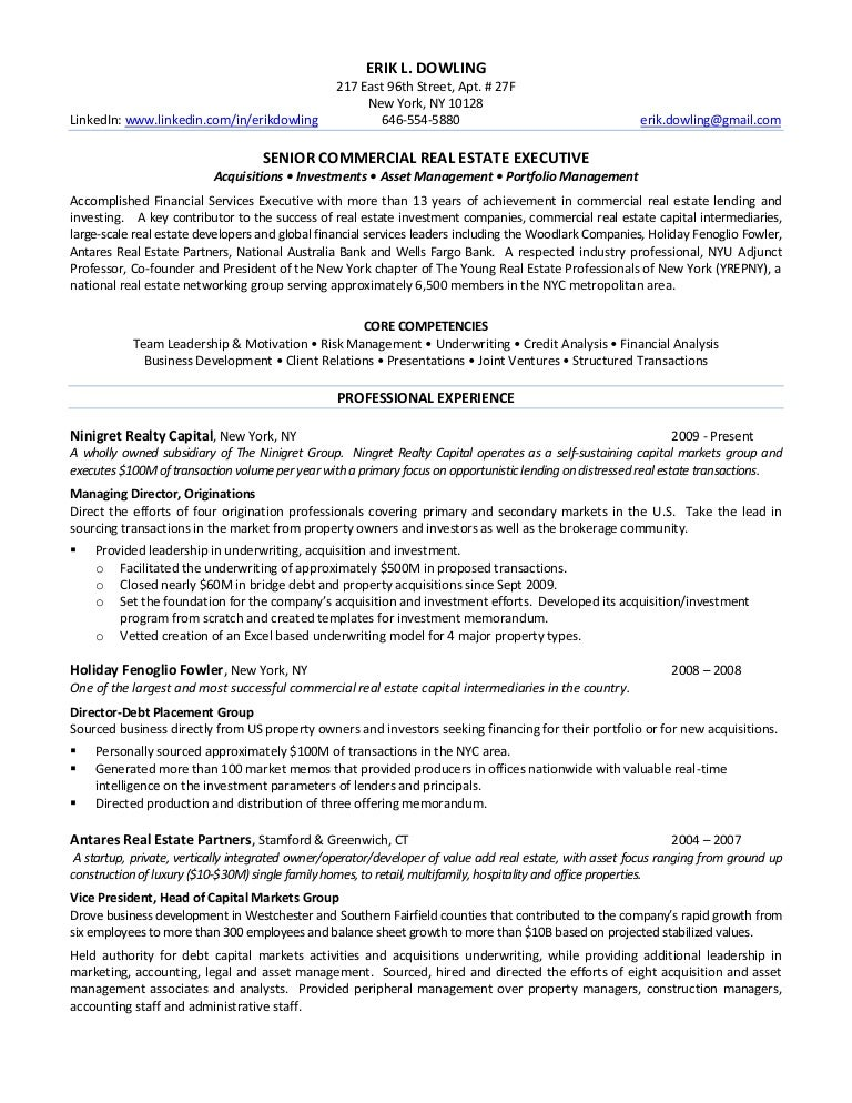 real estate investor resume examples tier brianhenry co