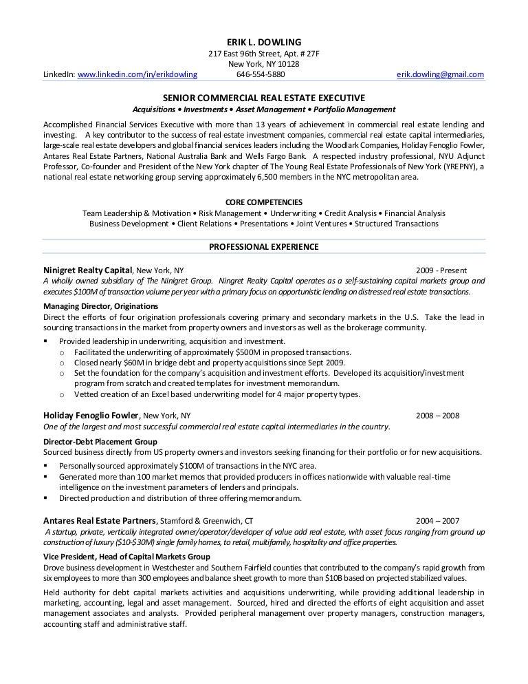 erik dowling s resume