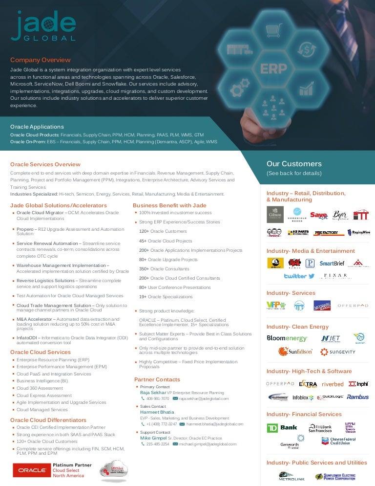 ERP Practice Overview