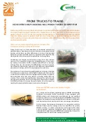 ERTMS Fact Sheet 1 - From trucks to trains
