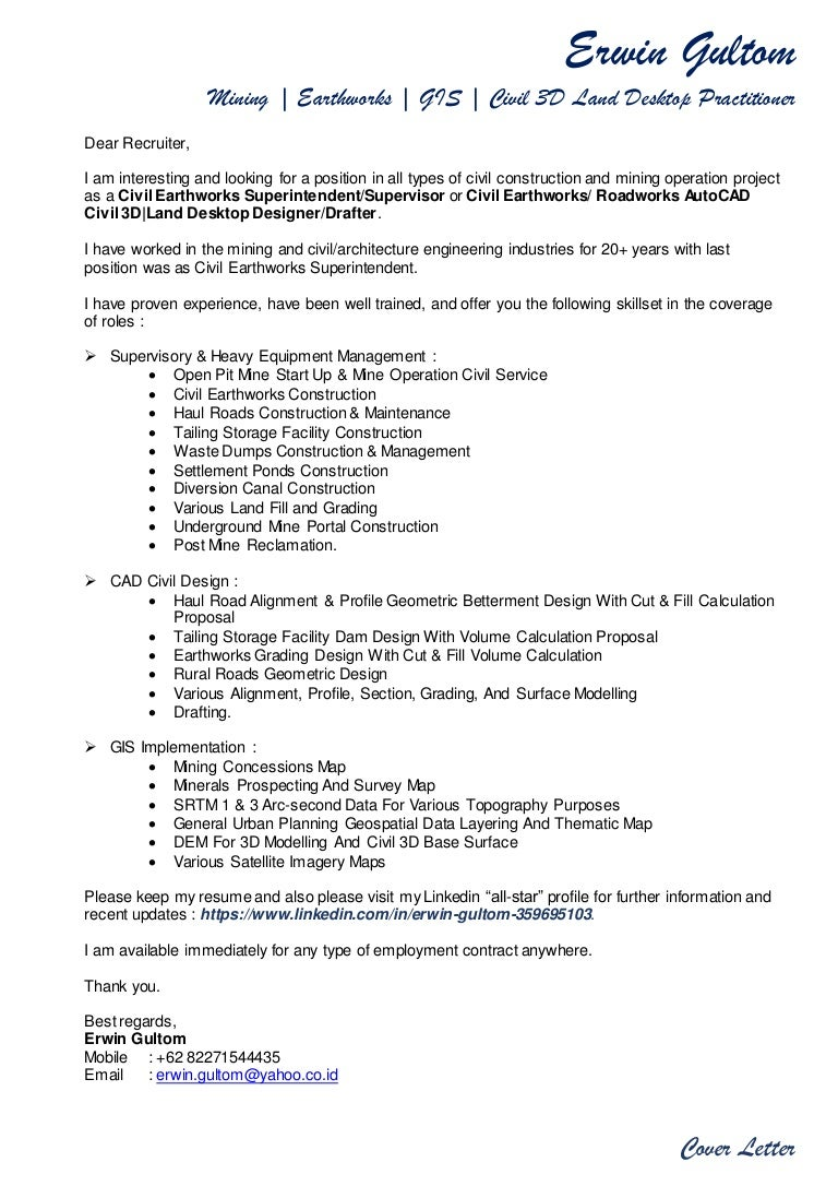 Urban Planner Cover Letter Gallery - Cover Letter Ideas