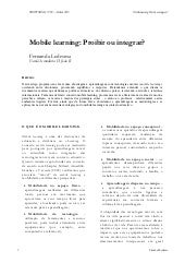 Mobile learning: Proibir ou integrar?