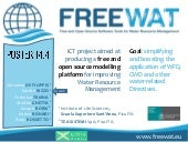 ICT Tools for water management
