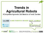 Trends in Agricultural Robots. A Comparative Agronomic Grid Based on a French Overview