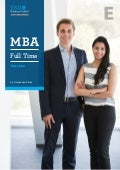 BROCHURE: ESADE Full Time MBA (ENG)