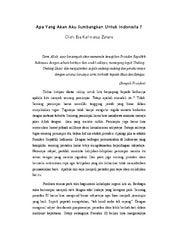essay tentang pemberantasan korupsi