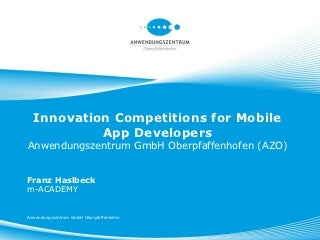 Innovation Competitions   LinkedIn