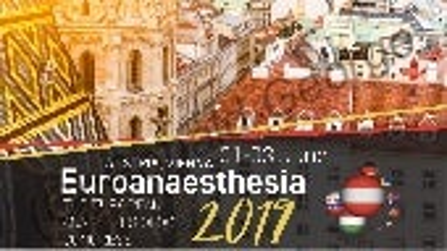 EuroAnaesthesia 2019 - PIEB Labour Analgesia