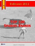 EsBrand 2011 - TOP100 Spanish Brands