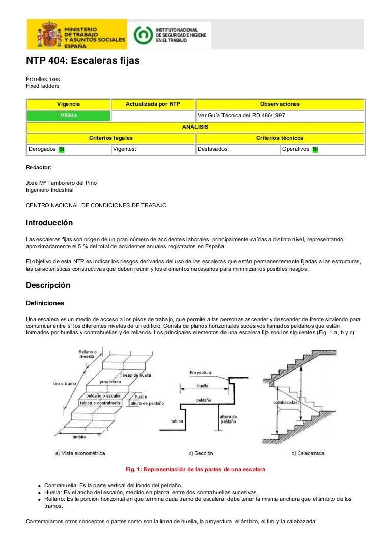 Escaleras normas for Tipos de gradas