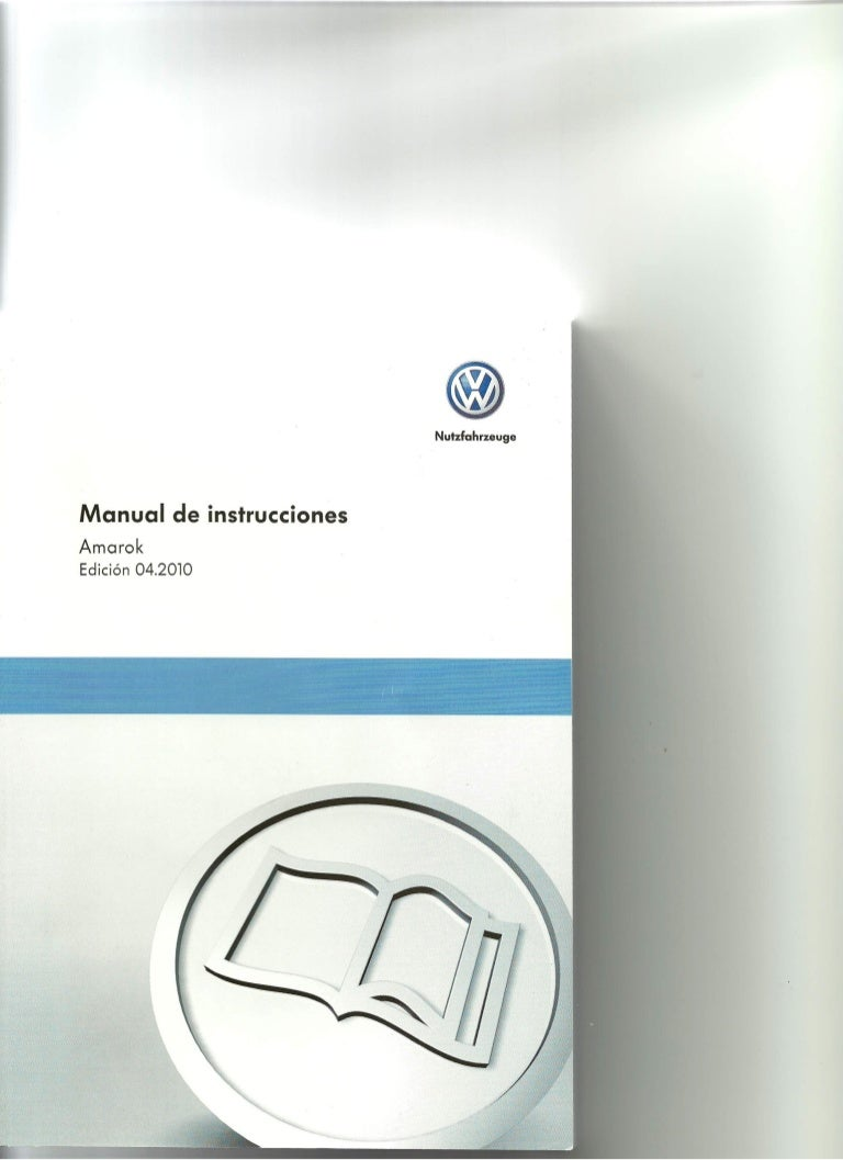 Manual Del Usuario Vw Amarok 1