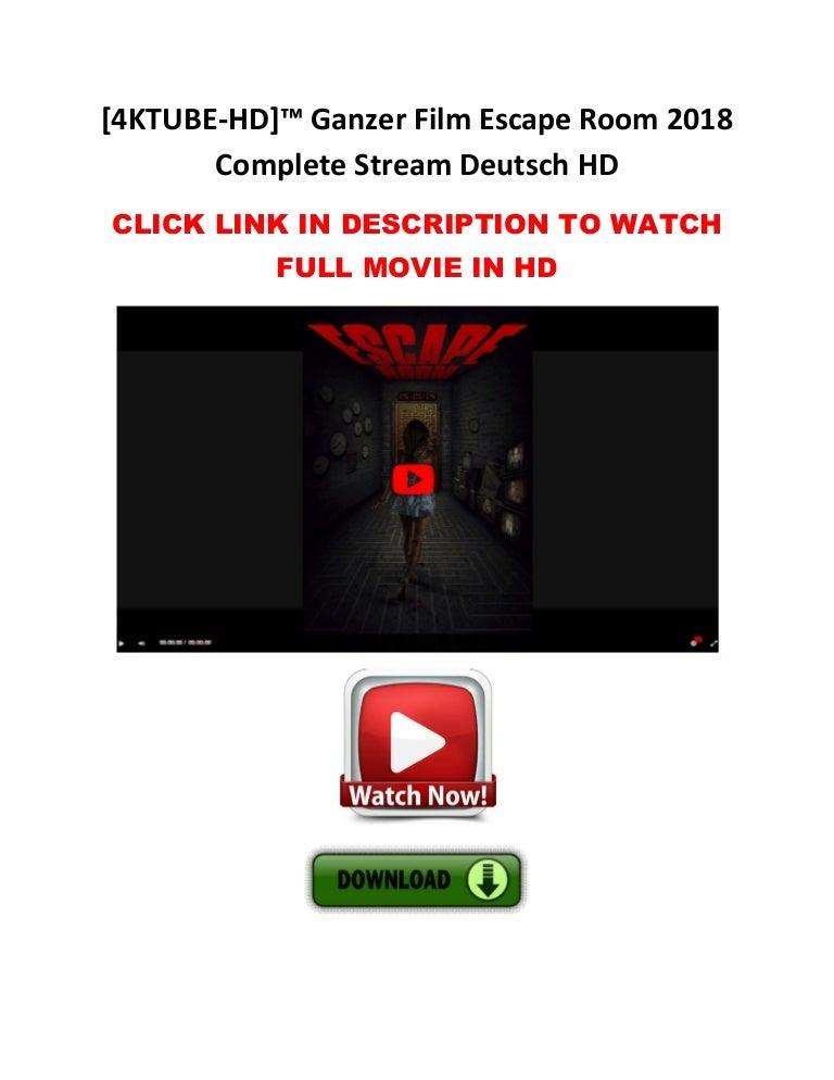 Escape Room Stream Deutsch 2021