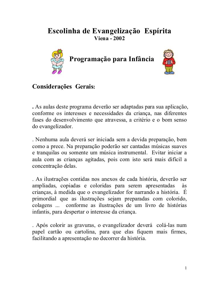 Escolinha De Evangelizaccca7acc83o Espicc81rita 1