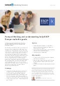 Anticipation and understanding help ESCP Europe make the grade