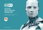 Antivirus recomendado para Windows. Eset NOD32 Seguridad Familiar