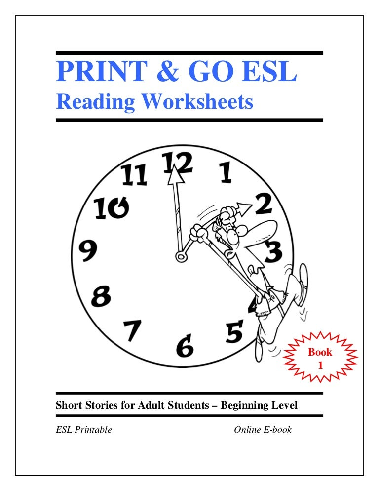 ESL English Language Reading Quiz worksheets Book 1 Short Stories f – Worksheets for Esl Students