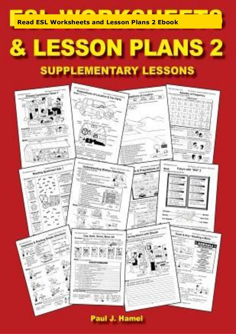 - Read ESL Worksheets And Lesson Plans 2 Ebook