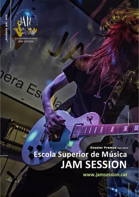 Esm jam session dossier premsa nov2014