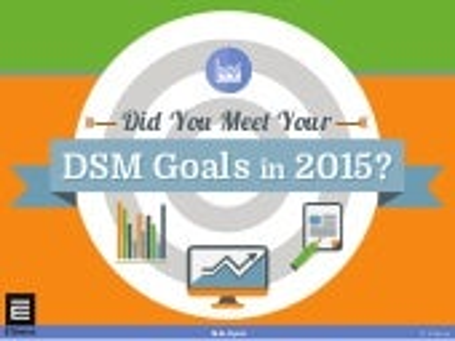 Did You Meet Your DSM Goals in 2015?