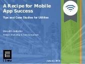 A Recipe for Mobile App Success