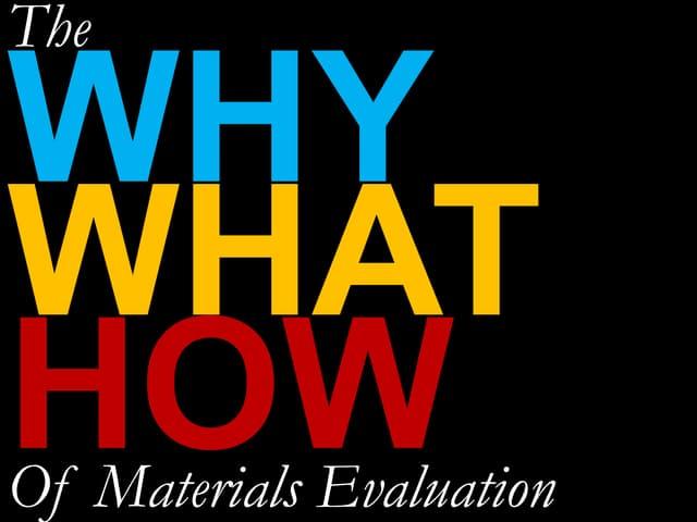 ESP Materiasl Evaluation