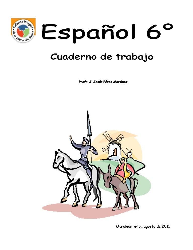 Español sexto ejercicios para alumnos de sexto grado para alumnos de …
