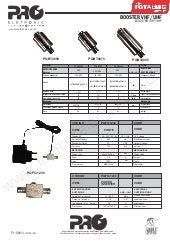 Manual do Usuário do Booster UHF e Vhf bivolt PQBT ( 2640