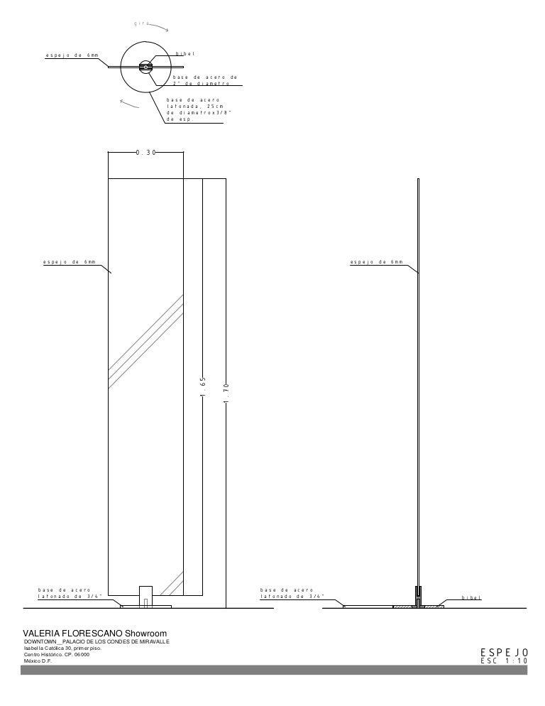 Evenes wandnische m espejo plano posterior profundidad 100mm bxh:625x325