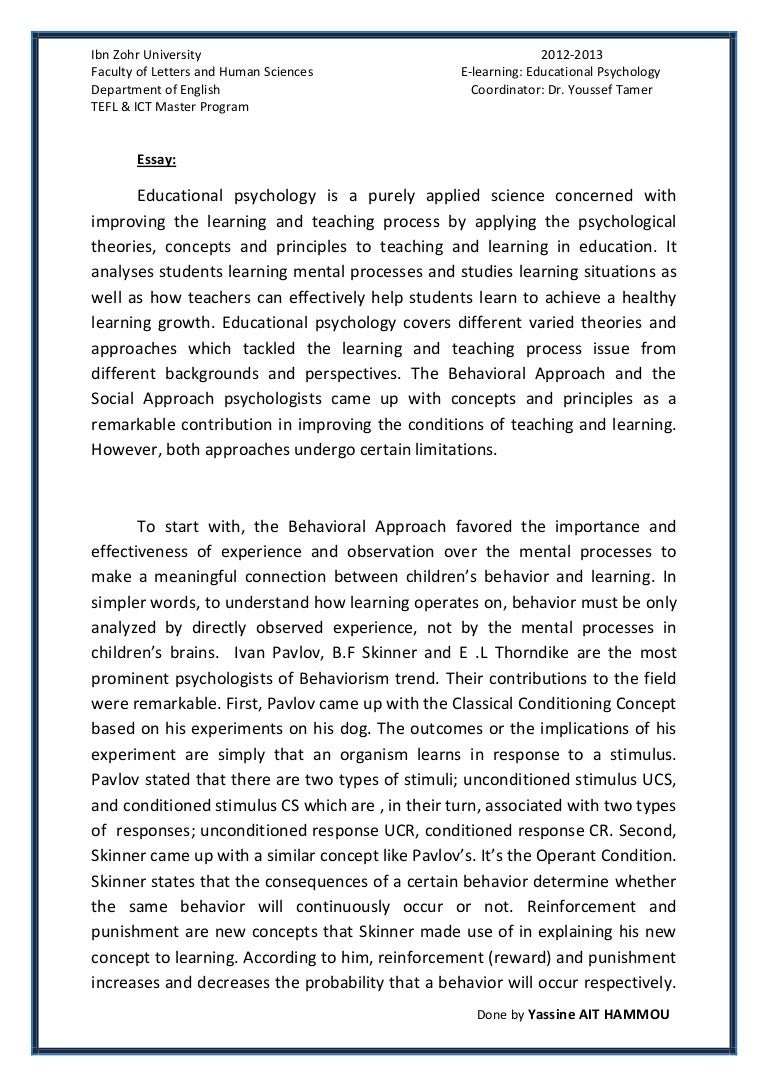 Psychology As A Science Essay Animal Testing Cons Essay Examples Essay  Study Skills By Yassine Ait