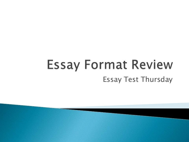 review essay format § the review essay should be approximately ten typewritten pages in length § all review essays must be typed and double-spaced in a standard font (preferably 12 cpi), with a 1-inch margin on all sides.