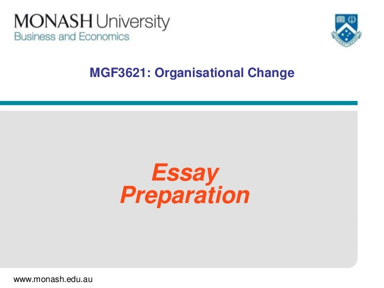 personal change essay