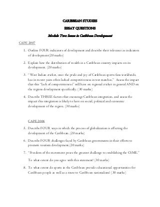Communication Studies Cape Model Essays On Regret - image 10