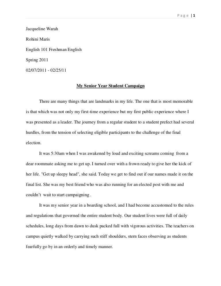student life experience essay Of course, we created not a free essay generator, but we are close to being one of the best help a student can get studentshare is an excellent platform for you to get inspired, perform a quick research on the trickiest topic, gain experience and understanding of what is an essay and how it should be written.