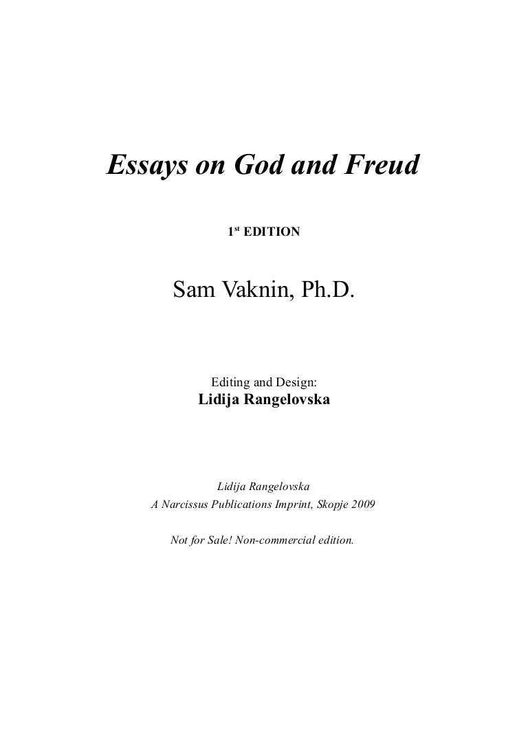 essays on god and freud
