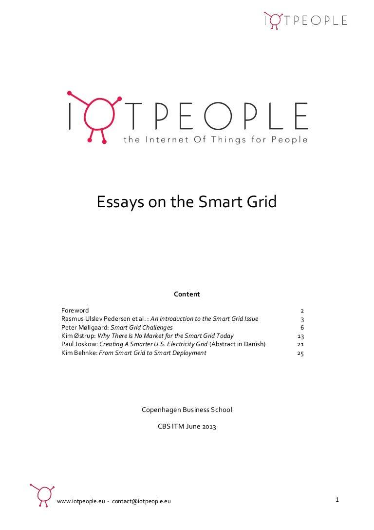 fbc6d190c Essays on the Smart Grid