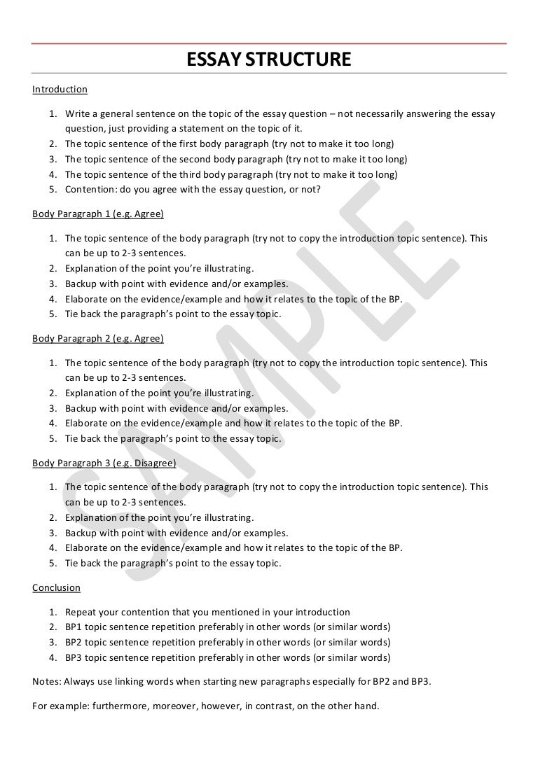 how to write a good thesis statement for an essay english essay  vce english language essay structure