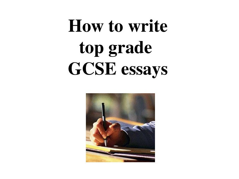 gcse essay writing