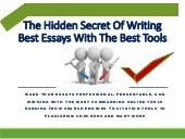 Best Essay Writing Tools And Resources Online