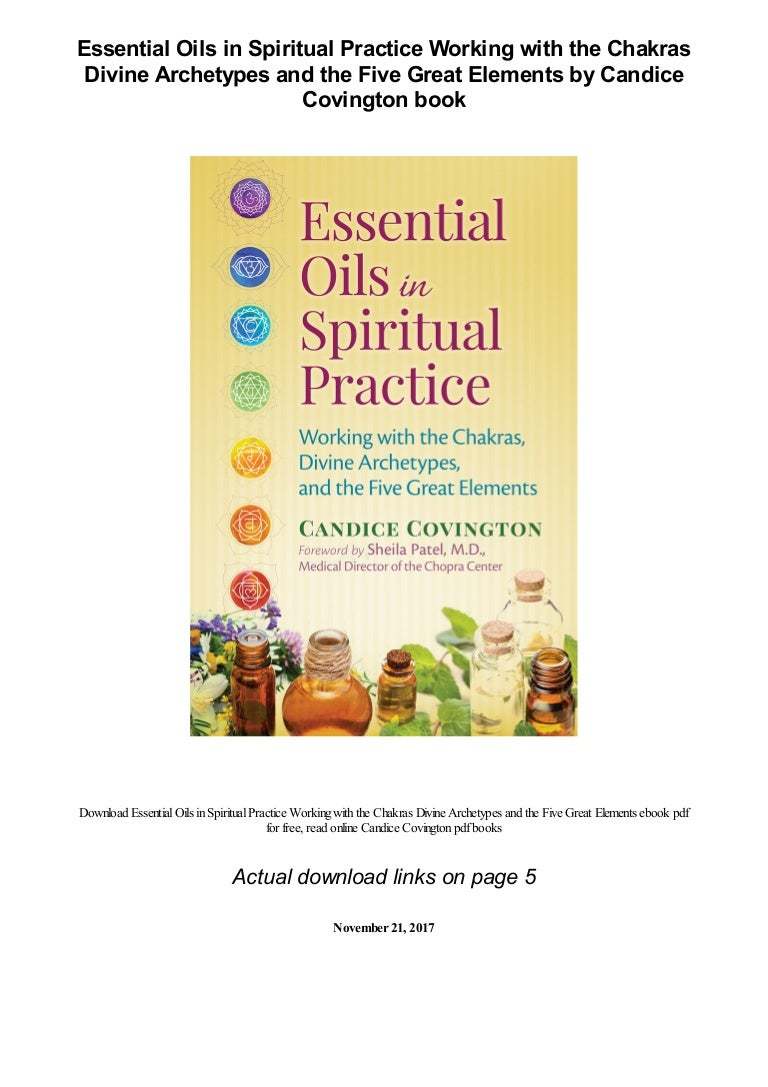 Essential Oils in Spiritual Practice Working with the Chakras Divine …